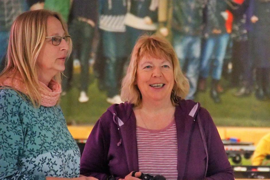 Kerstin Holtz und Beate Lawrenz, die Sozialpädagoginnen des Fachbereichs Ganztag, organisieren und betreuen das Projekt.