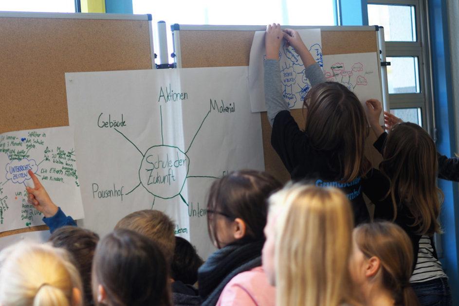 "Das Kinderparlament arbeitet an Ideen zur ""Schule der Zukunft""."