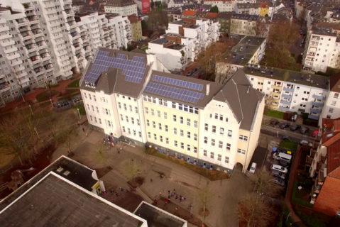 Die Vernetzung sozialer Dienstleistungsträger in der Dortmunder Nordstadt umfasst eine Fläche von circa elf Fußballfeldern. Dort wohnen etwa viertausend Menschen.
