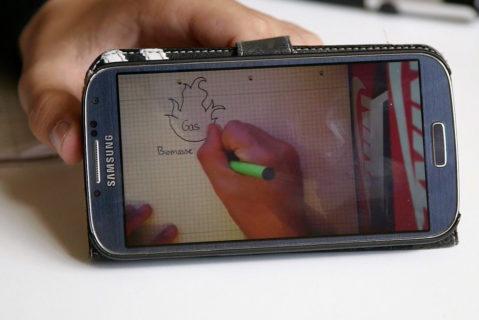 Auch Tutorials und Erklärfilme werden von den Schülerinnen und Schülern selbstständig erstellt.