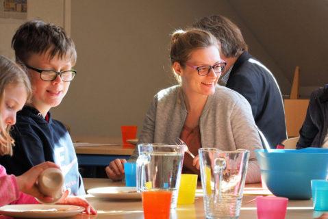 Gemeinsames Mittagessen vor der Mediationsausbildung.