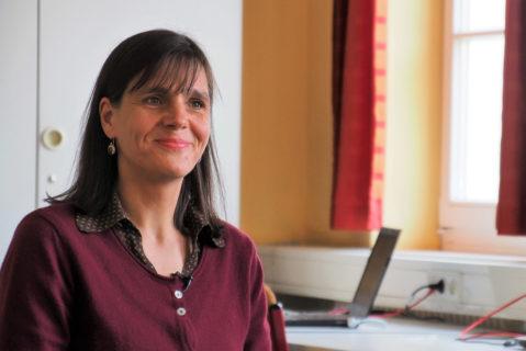 """Als ehemalige IT-Expertin konnte Fr. Hager-Cap ihr Vorwissen in ihr """"Persönliches Projekt"""" einbringen."""