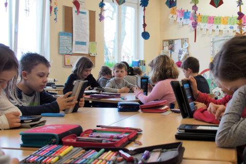 """Durch das """"Persönliche Projekt"""" konnten Tablets als Teil der Medienbildung in die Grundschulstufen 2-4 eingeführt werden."""