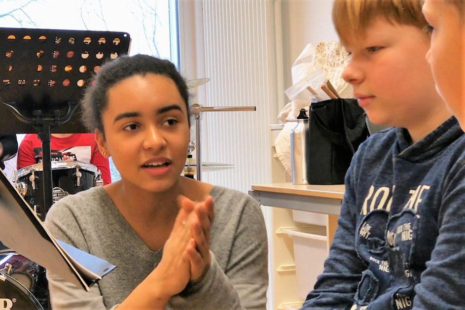 Wenn es mal eng wird, können die Schüler-Lehrkräfte auch mal als Vertretung einspringen.