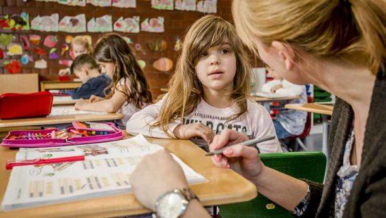 Coaching einer Schülerin an der Waldparkschule in Heidelberg
