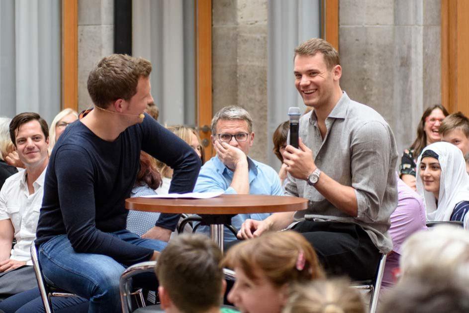 Schirmherr Manuel Neuer im Interview