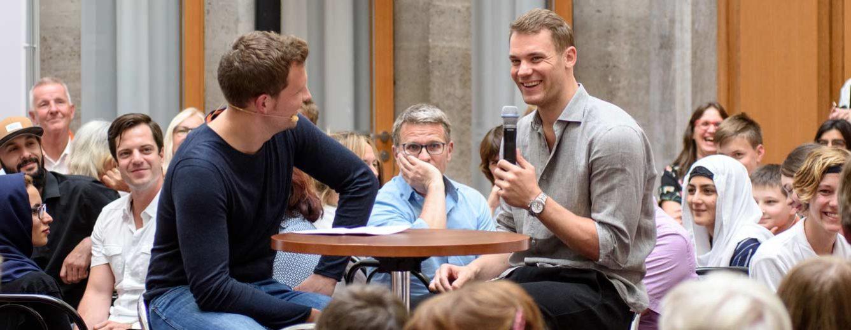 Nationaltorwart Manuel Neuer im Interview