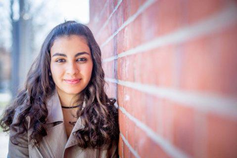 Die 17-jährige Reem Sahwil besucht derzeit die neunte Klasse und möchte im übernächsten Jahr das Abitur angehen.