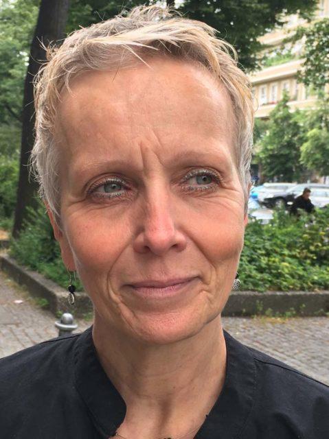 Englischlehrerin Cathrin Zahavi