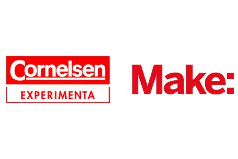 Logo Make-Magazin und Cornelsen Experimenta