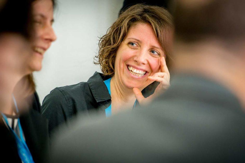 Julia Iser koordiniert an der Richard-Hallmann-Schule die Schulentwicklung © Richard-Hallmann-Schule
