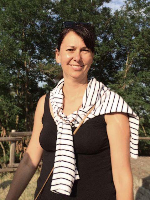 Portrait von Christine Senger, Schulleiterin der Kerschensteiner Gemeinschaftsschule