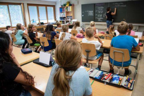 Unterrichtssituation in einer Grundschule