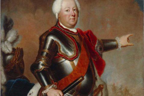Portrait von Friedrich Wilhelm I