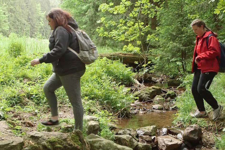 Auf der dreitägigen Exkursion geht es darum, den Wald mit seinem pädagogischen Potenzial als Spiel-, Lern- und Lebensraum zu entdecken.