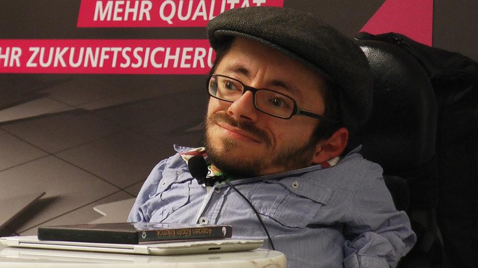 Der Inklusions-Aktivist Raúl Aguayo-Krauthausen