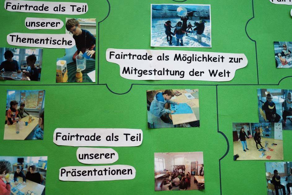 Behandelte Themen werde umfassend in das gesamte Schulleben integriert, so dass Lebensweltbezüge entstehen können.