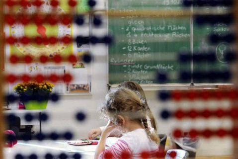 Viele Schüler in Deutschland leiden unter Stress.