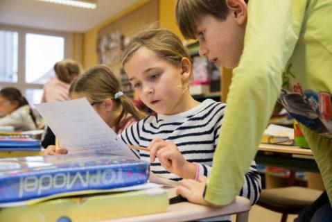 Meusebach Grundschule Geltow, In der Klasse 3a von Frau Fritzi Rothe.