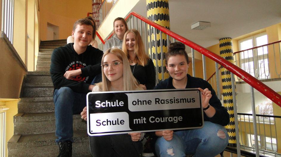 Für Rassismus ist an der Freien Oberschule Fürstenwalde kein Platz