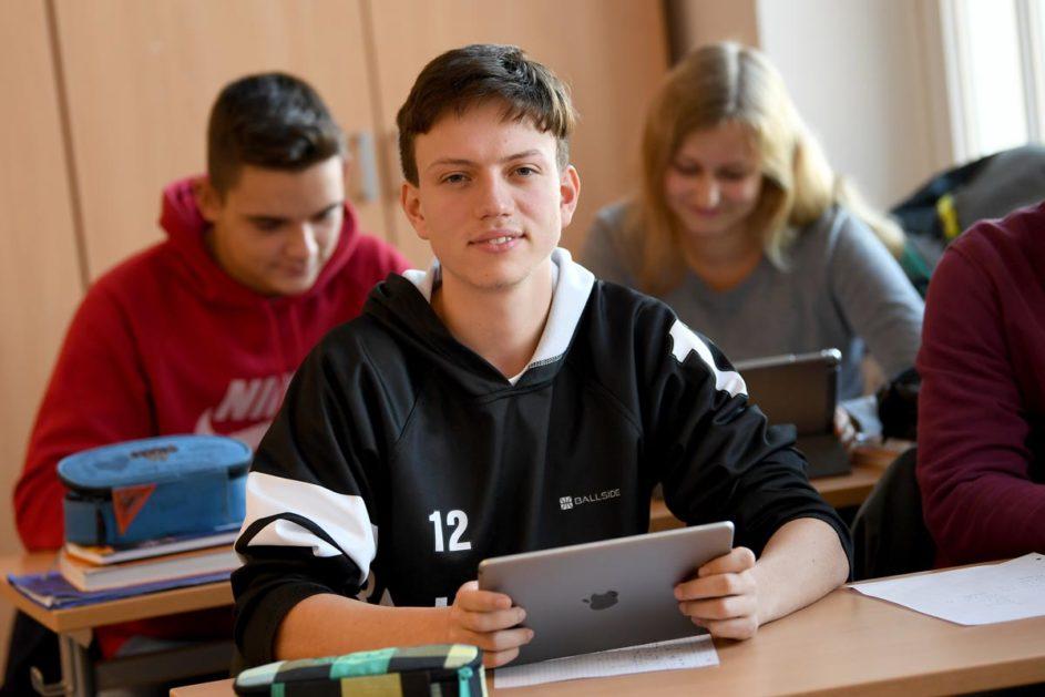 Unterricht mit digitalen Medien (Symbolbild)