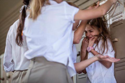 Mobbing in der Schule (Symbolbild)