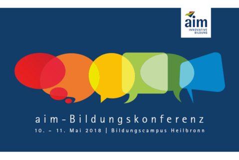 Logo aim Bildungskonferenz