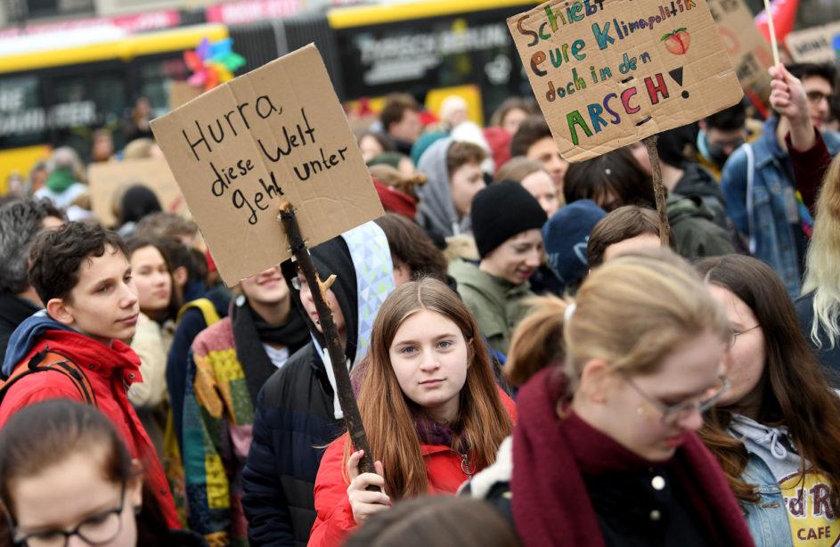 Weltweite Klima-Demo