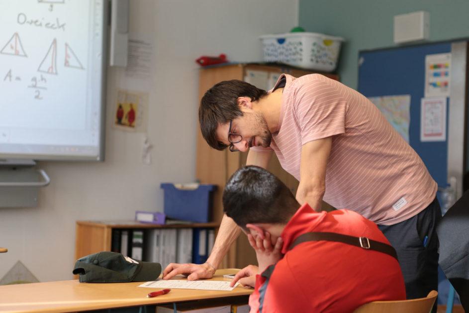 Fellow im Unterricht