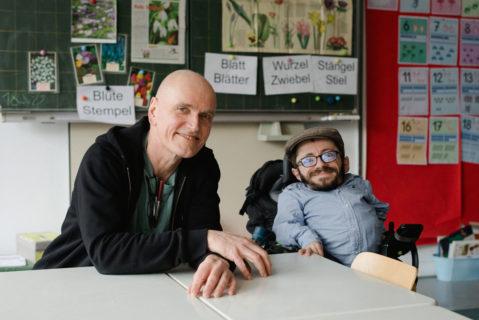 Raúl Krauthausen und Hubertus Siegert