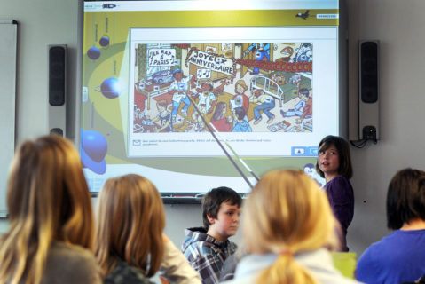 Digital gestützter Französischunterricht in Lingen (Niedersachsen)