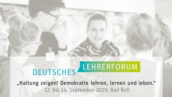 Logo Deutsches Lehrerforum