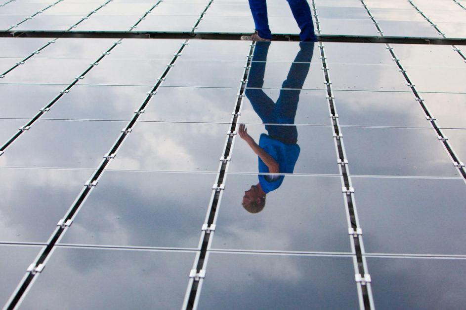 Sollen Berlin künftig mit Strom versorgen: Solardächer