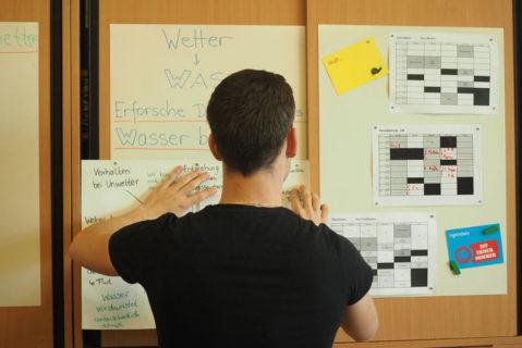 Neben offenen Angeboten werden in der Lernwerkstatt auch unterrichtsrelevante Themen behandelt.