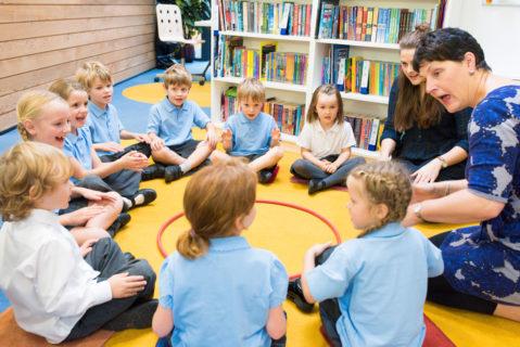 """Das in den USA entwickelte Programm """"Success for All"""" zur Förderung der Lesefähigkiet ist auch in Großbritannien verbreitet."""