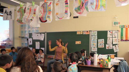 Unterricht in La Paz