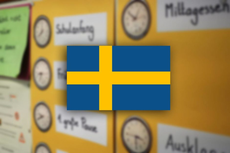 Schwedenflagge