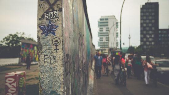 Berliner Mauer Menschen