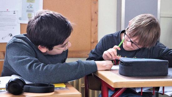 Die Erfahrungen zeigen, dass Schülerinnen und Schüler mit dem Förderschwerpunkt Geistige Entwicklung (GE) oft sehr gut in der Lage sind, jüngere Schülerinnen und Schüler mit einem ähnlichen Förderschwerpunkt zu unterstützen.