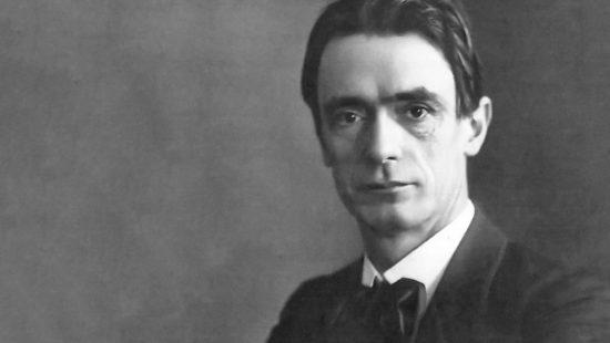 Porträt von Rudolf Steiner, dem Gründer der Waldorfschule