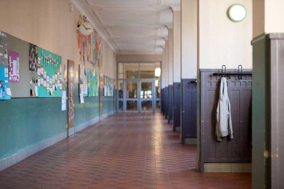 Die Schulen sind wegen des Coronavirus leer