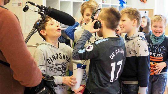Kinder Mikrofon Kamera