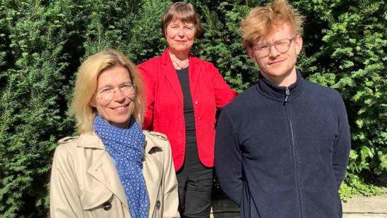 Weltlehrertag drei Lehrer